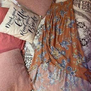 Forever 21 floral dress.
